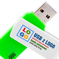 pendrive COLOUR z nadrukiem full kolor CMYK